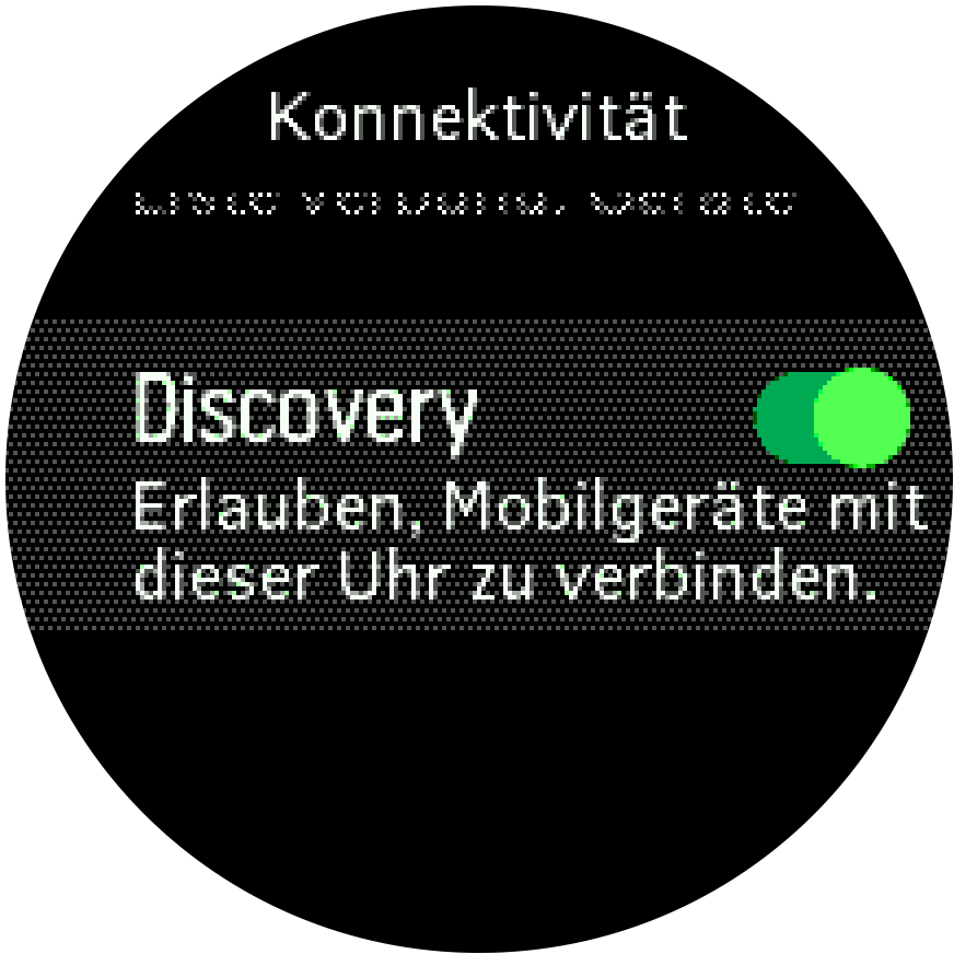 SF3 Discovery Bluetooth