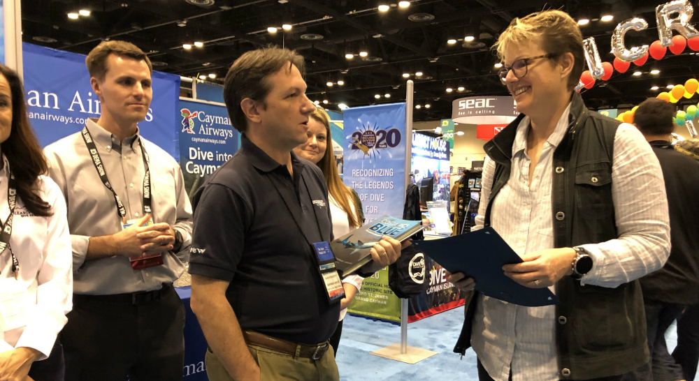 Dema Show 2020.Jill Heinerth Joins Diving Hall Of Fame
