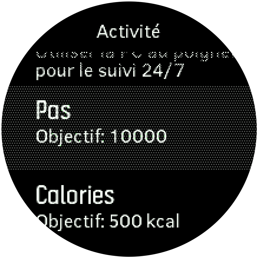 Activity Goals Trainer