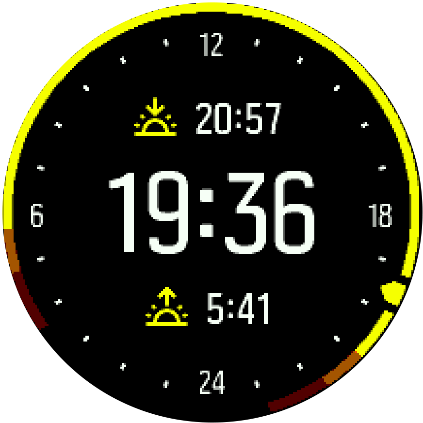 Outdoor Watchface Spartan Trainer