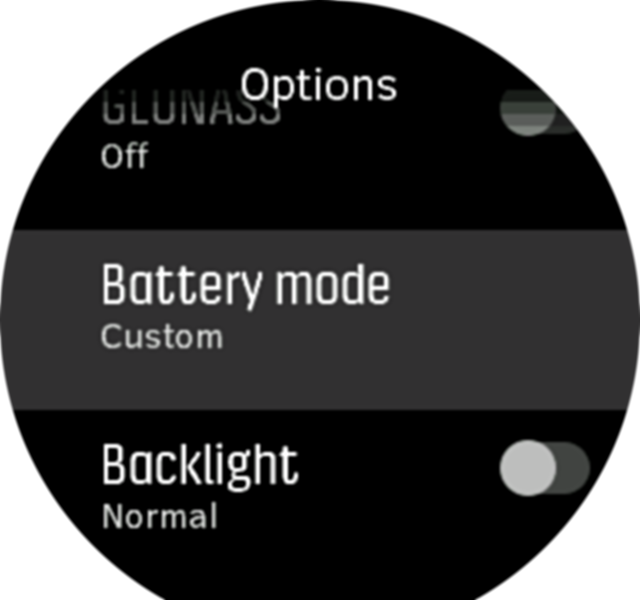 Battery Modes S9