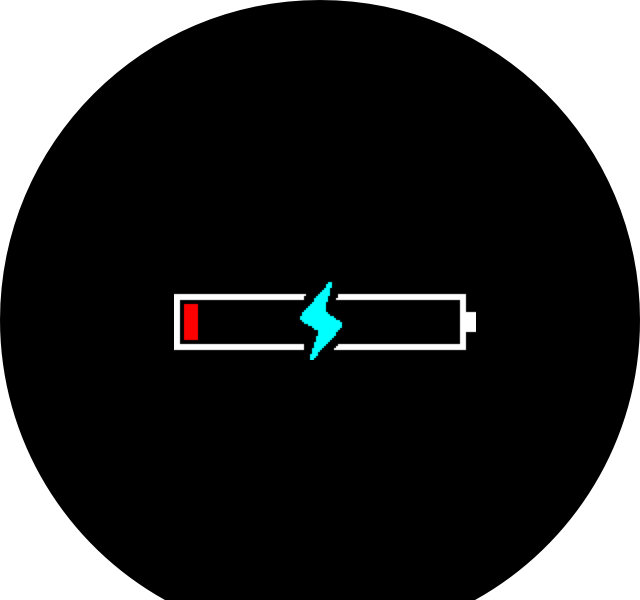 Battery empty charging