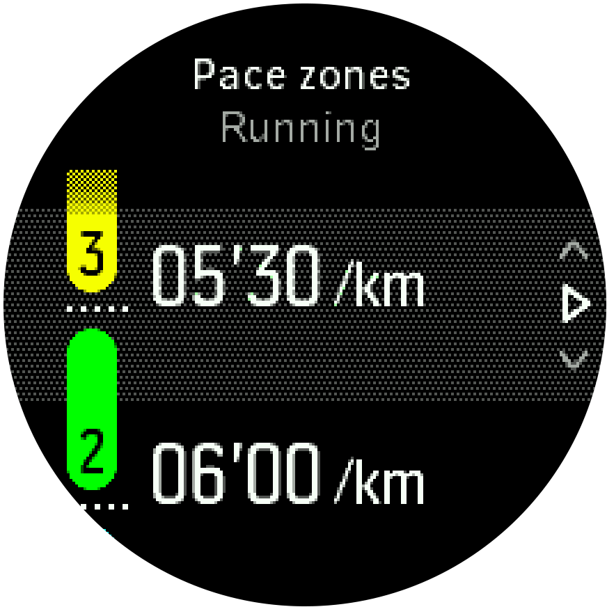 Intensity Pace Zones Trainer