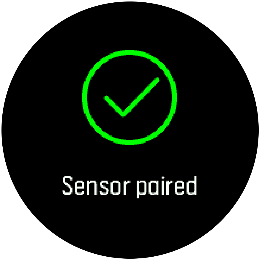 Sensor paired Trainer