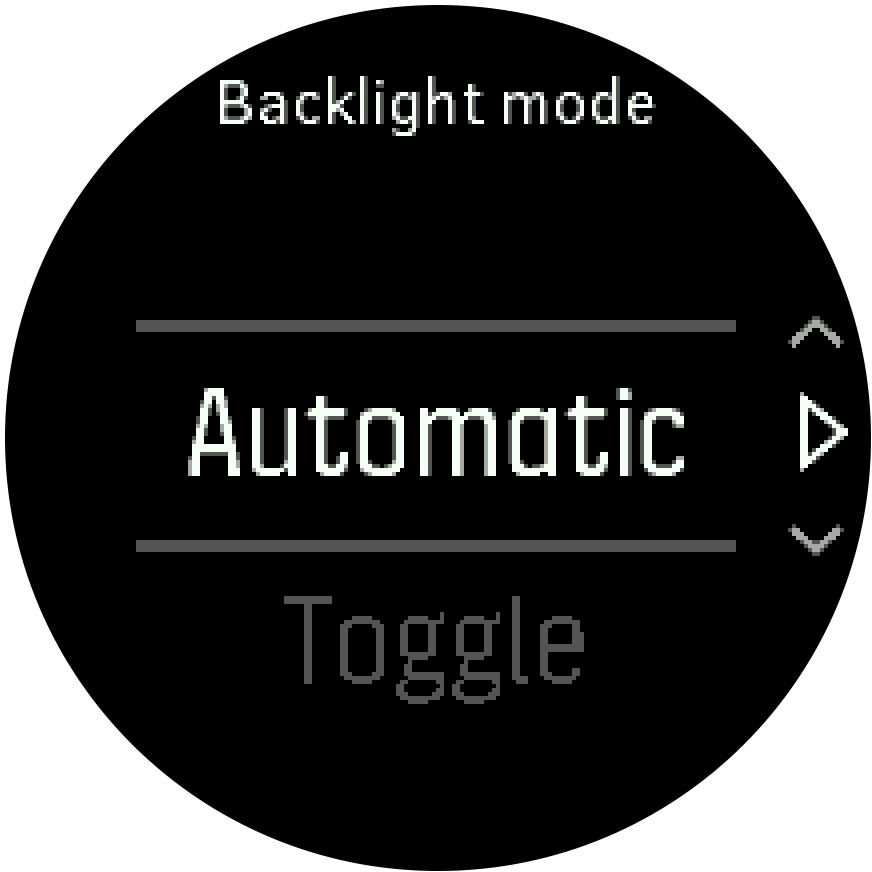 Backlight mode