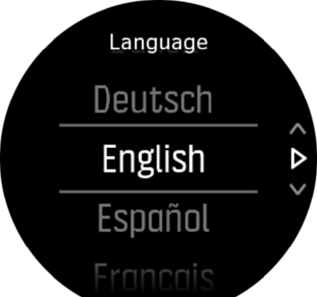 Select language Spartan