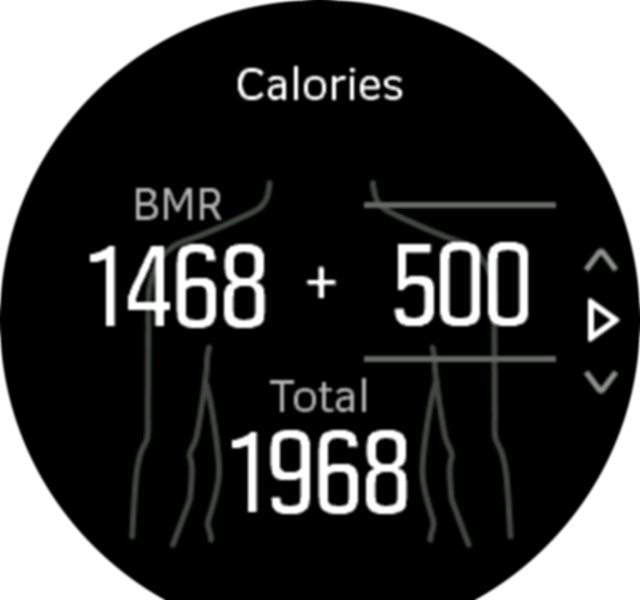 Activity Goals calories