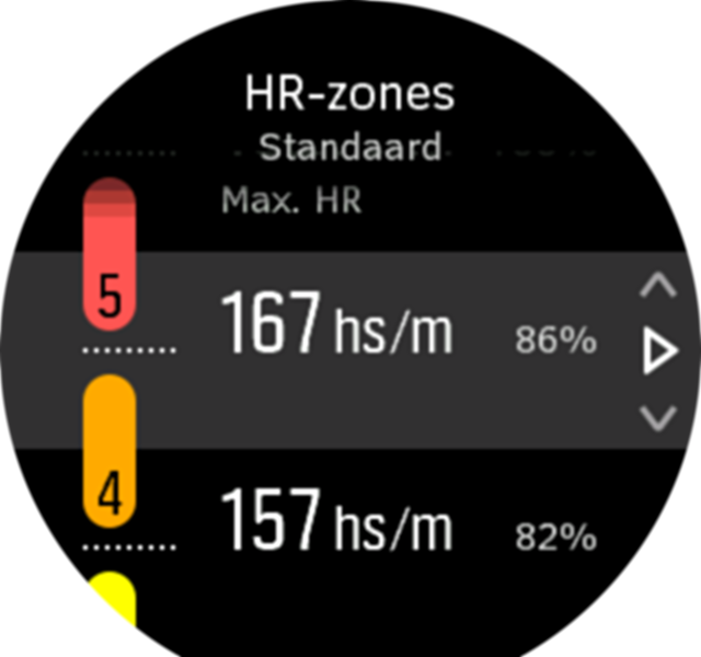 Advanced HR Zone