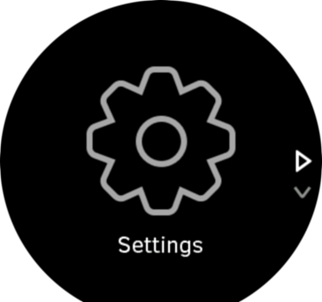 Settings icon Spartan