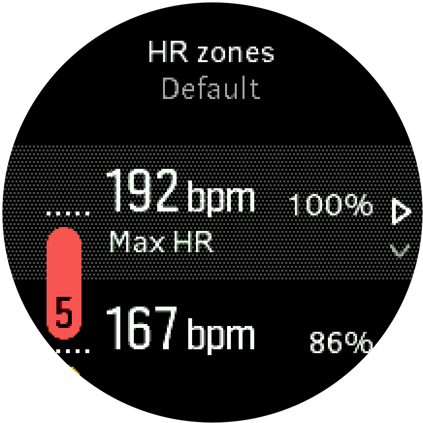 Default Max HR-1
