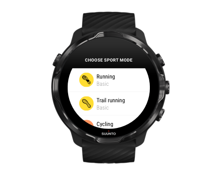 suunto-wear-app-sport-mode-list-example