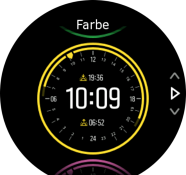 watchface color
