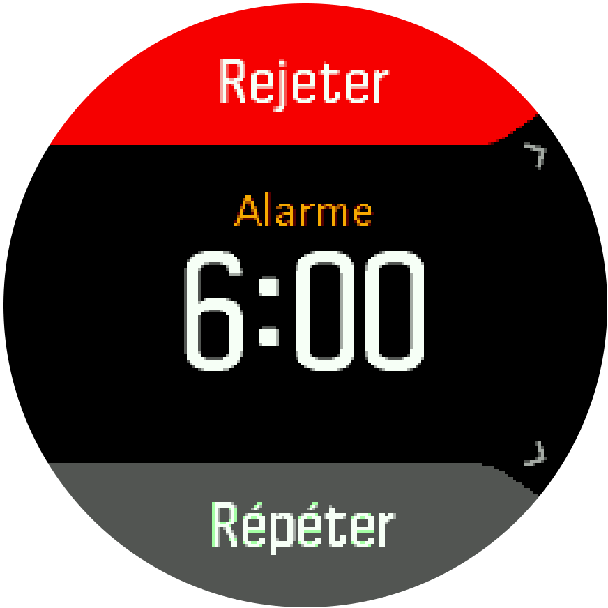 Alarm dismiss snooze Trainer