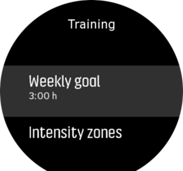 WeeklyGoal Settings Spartan