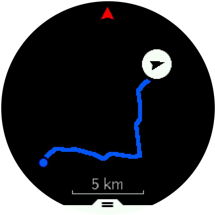 Route overview Trainer