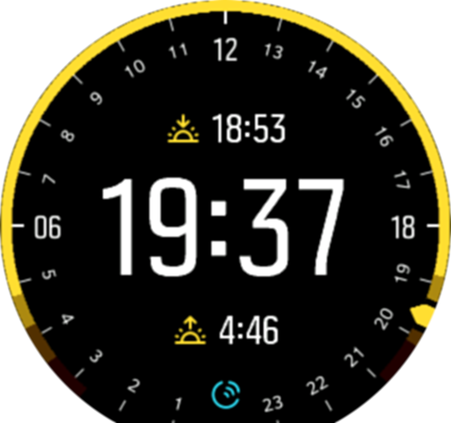 Moonphase watchface Spartan