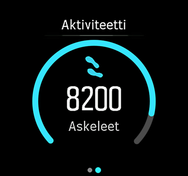 ActivityMonitoring askeleet Spartan