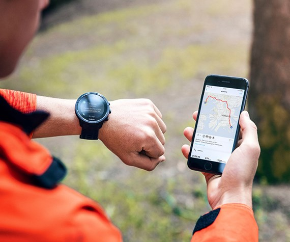 SHARE YOUR PASSION WITH SUUNTO APP