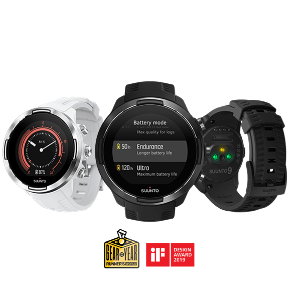4658b3d677d107 Suunto 9 – the best ultra running GPS watch in Suunto collection