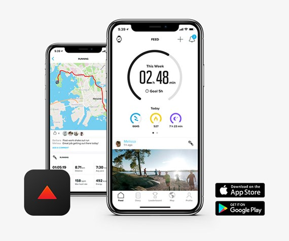 KEEP TRACK OF YOUR ADVENTURES WITH SUUNTO APP