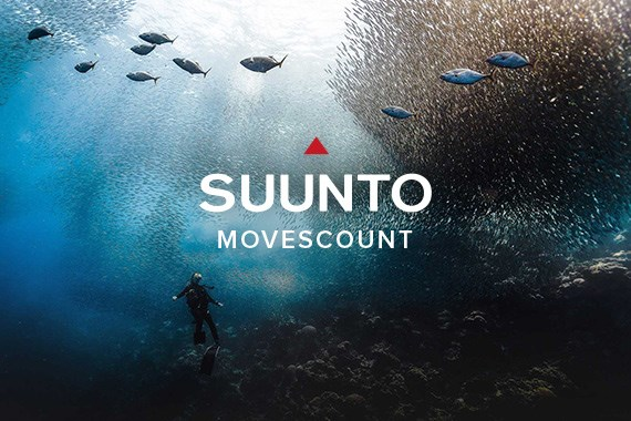 Веб-сайт Movescount.com компании Suunto