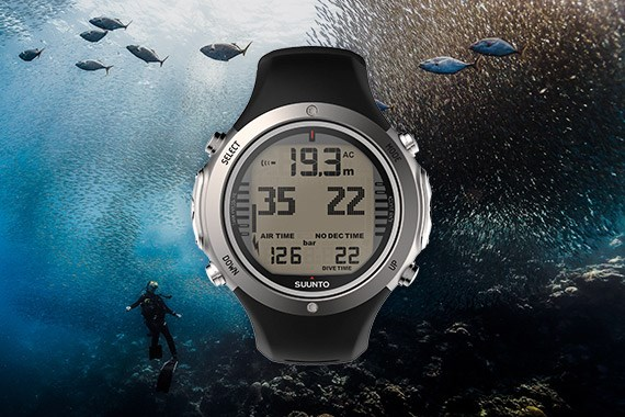Suunto watch sized dive computers - Computer dive watch ...