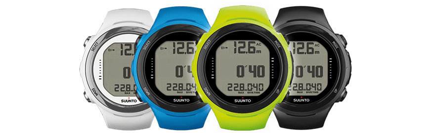 New color versions of the dive computer Suunto D4i