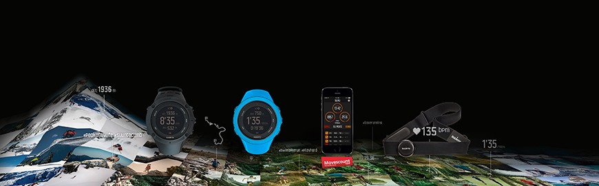 Suunto Connected Family mit Ambit3