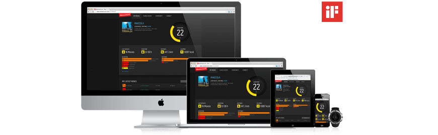 Movescount redesign receives global iF Design Award