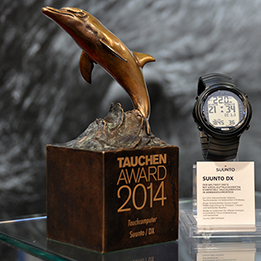 Tauchen Magazine 2014: The best dive computer DX