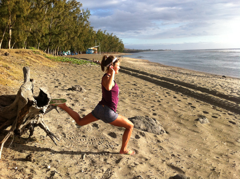 Emelie's Training Tips, Hip flexor stretch