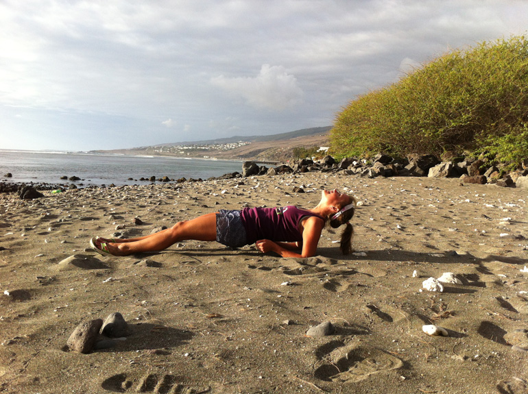 Emelie's Training Tips, Reverse Plank