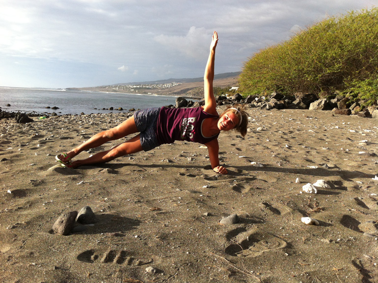 Emelie's Training Tips, Side Plank