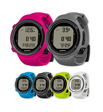 Suunto D4i color variants