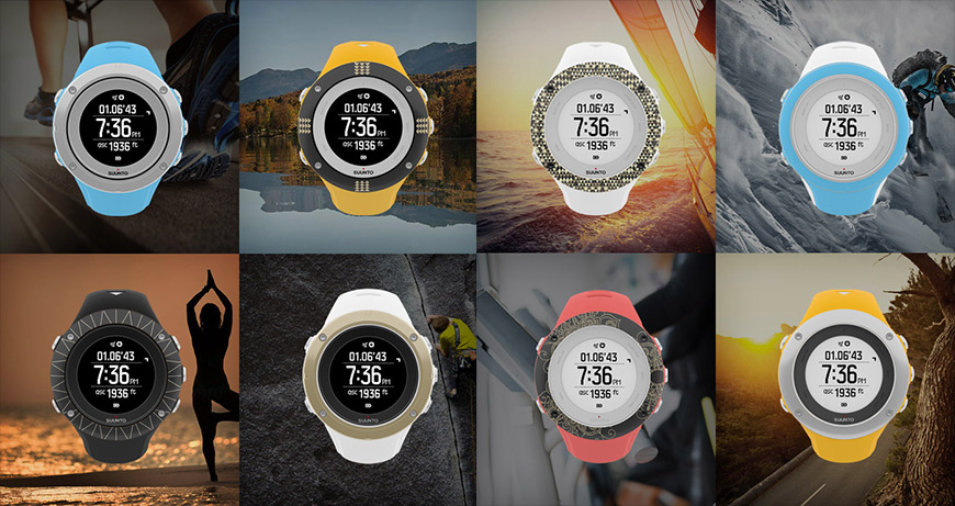 Suunto customized watches