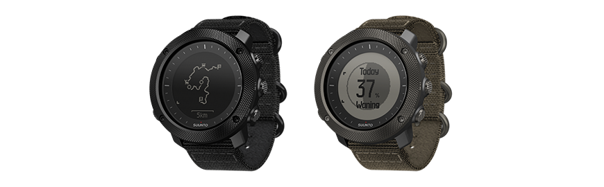 Suunto Traverse Alpha Stealth and Alpha Foliage