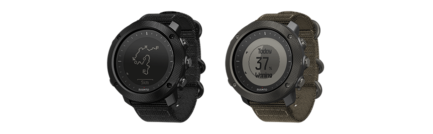 Suunto Traverse Alpha Stealth and Suunto Traverse Alpha Foliage