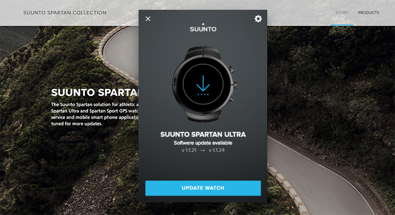 SuuntoLink keeps your Suunto watch up to date
