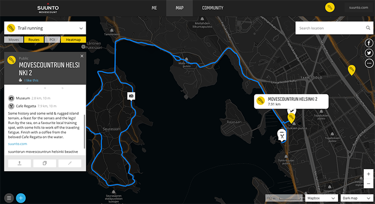 A must-run route in Helsinki