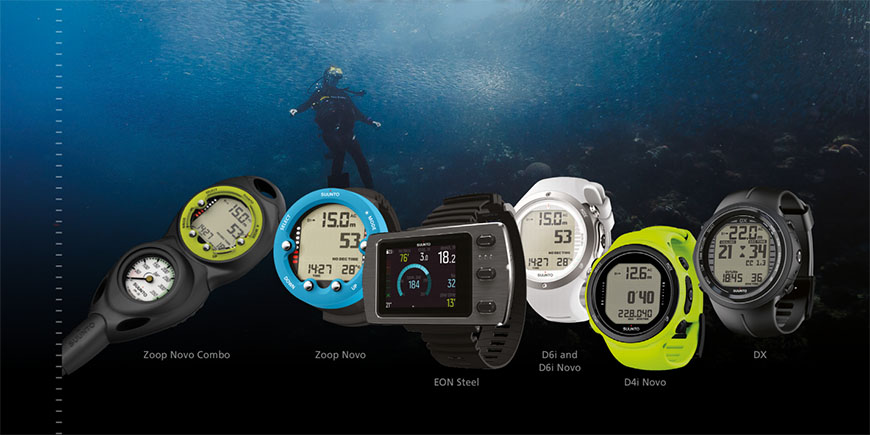 Suunto dive computer trade-in campaign