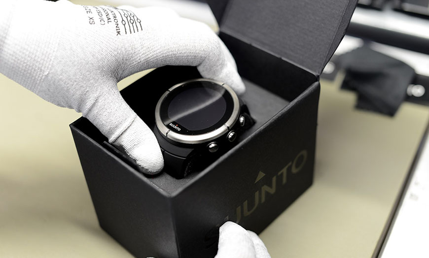 Suunto Spartan Ultra leaving the factory