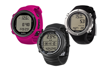 New software for Suunto D-series dive computers