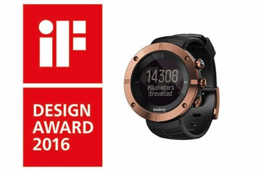 Suunto Kailash wins the prestigious iF Design Award