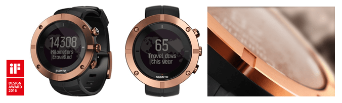 Suunto Kailash hat iF Design Award gewonnen.