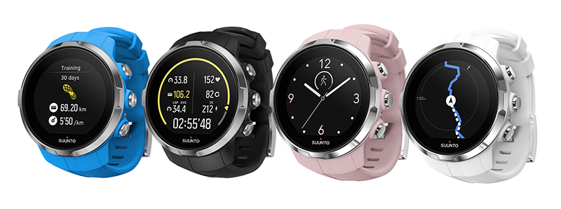 The strong and sleek Suunto Spartan Sport watches