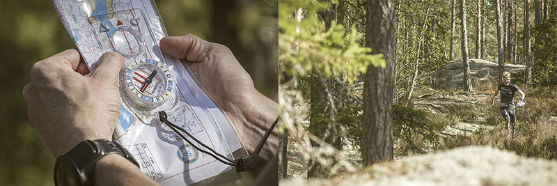 Suunto AIM compasses are developed in cooperation with Mårten Boström