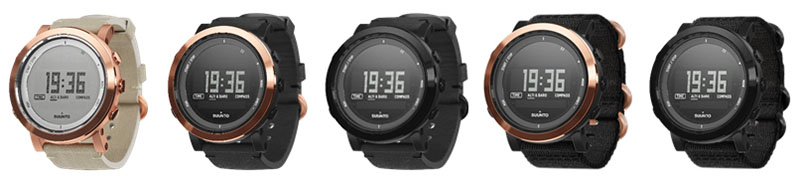 Suunto Essential Ceramic models