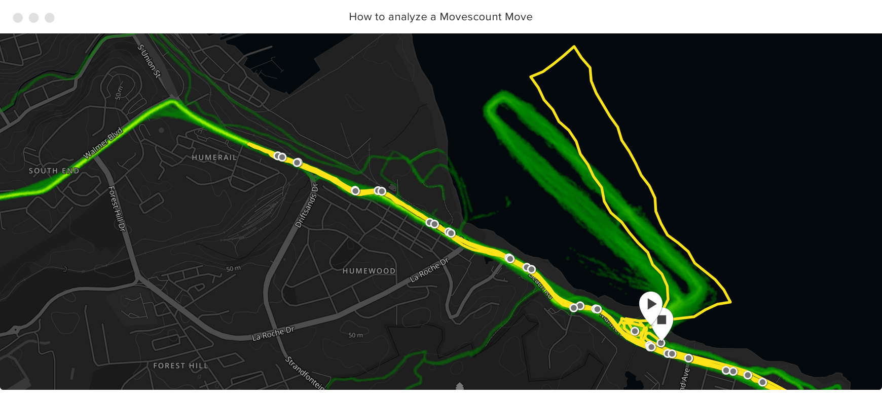 A heat map reveals the course was different from the years before