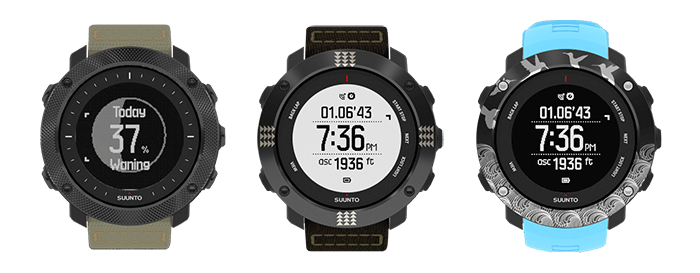 Suunto Customized Collection utökas med tre nya klockor