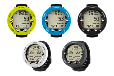 Suunto brings out completely revised big display dive computers